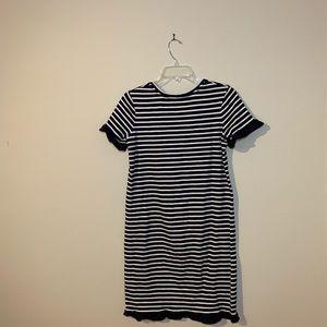 Biden black and white dress size L